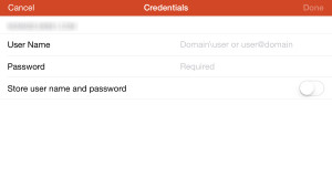 Comment se connecter à RDP via RWW sur iOS.